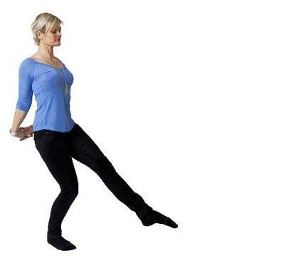 Snyggare hållning med balansövning