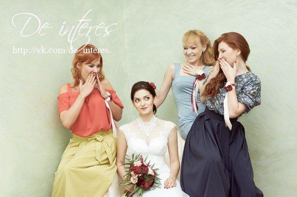 Свадебные аксессуары.Браслет  для подружки невесты цвета…