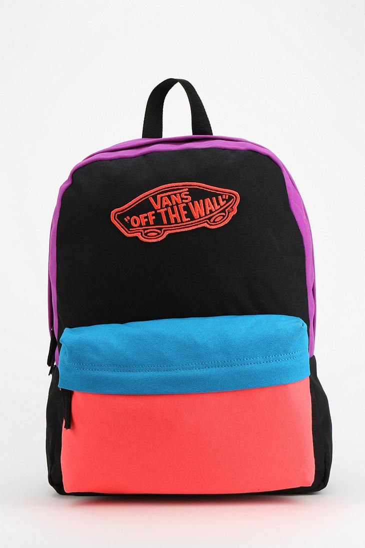 Vans Realm Colorblock Backpack #urbanoutfitters