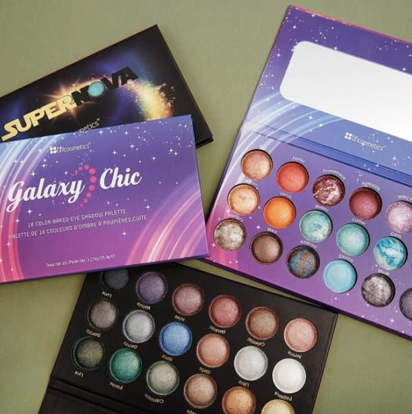 42 Amazing Makeup Palettes That Are Almost Too Pretty To Use  BH Cosmetics Galaxy Chic or Supernova Palette