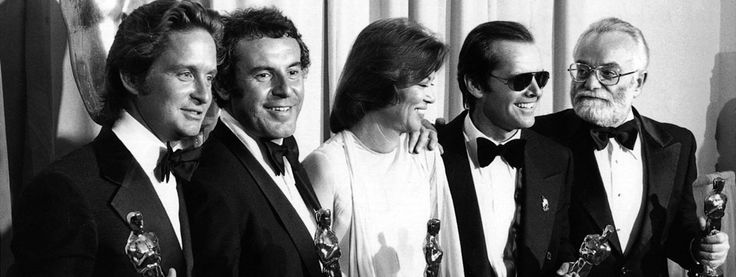 The 48th Academy Awards | Oscar Legacy | Academy of Motion Picture Arts and Sciences  1975 Best Actor & Actress Jack Nicholson & Louise Fletcher for One Flew over the Cuckoos Nest