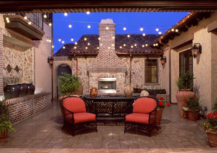 Italian villa house plans godden sudik leading for Italian house plans with courtyard