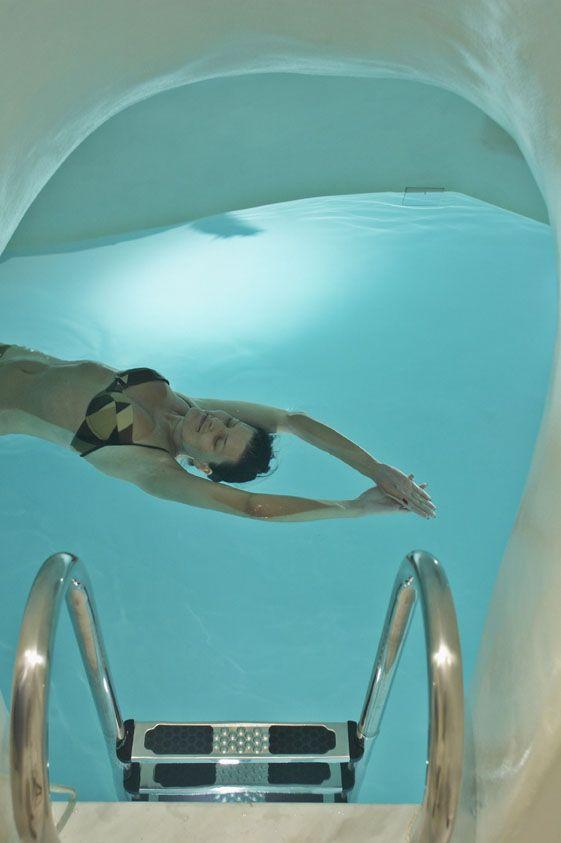 Cave #pool #suite #ArtMaisons #Santorini