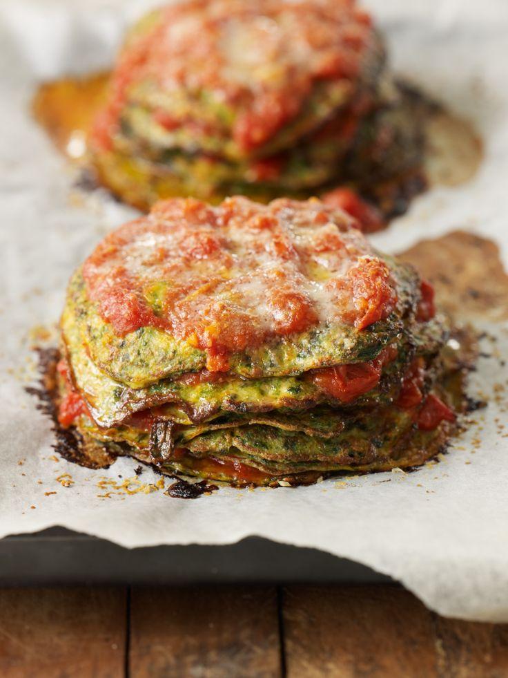Spinach galettes - yummmmm!