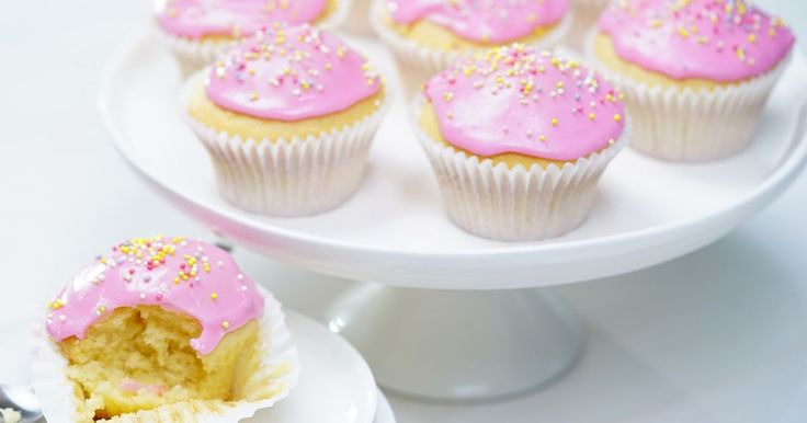 Traditional cupcakes are always a crowd-pleaser. Exercise your creative muscle by decorating these cupcakes to suit your mood.
