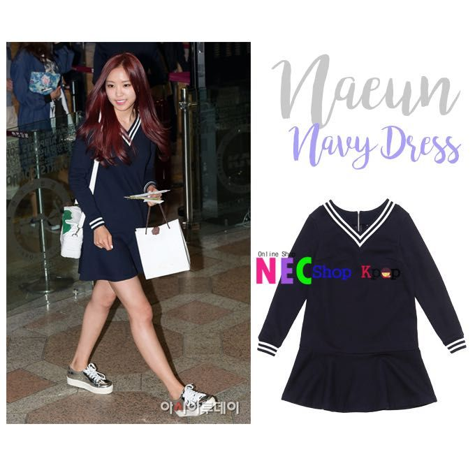 NAEUN APINK SAILOR DRESS FOR ORDER Line : eliansy/nelyaulia LINE@:jpz0431x(use@) whatsapp/sms : 08986516925/08996524425 BBM : 5439DDBD Facebook/page : nec shop kpop  PAYMENT : MANDIRI/BNI/WESEL POS/WESTERN UNION SHIPPING PRODUCT BY JNE/POS INDONESIA/EMS Happy Shopping Kak  we can shipping world wide ✈️ #necshopkpop #kpop #kpopstyle