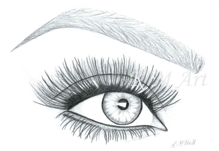 #art #drawing #pencil #makeup #lashes #eyes