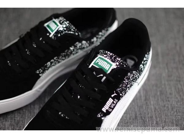 Chaussures Puma Femme Puma G.Vilas Suede Winterize noir couleur est beaucoup plus charmante chaussures.