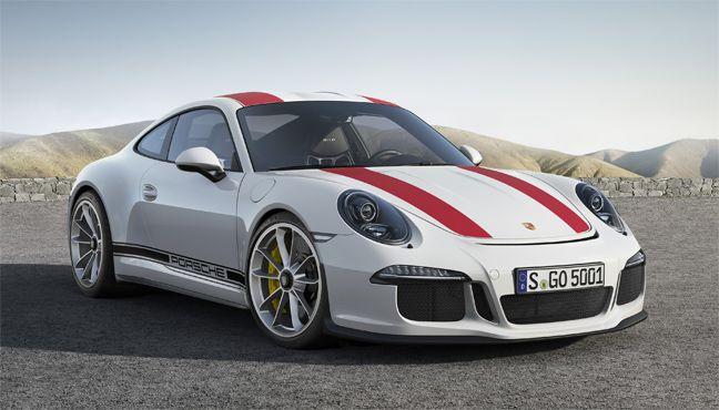 Nouvelle Porsche 911 R.