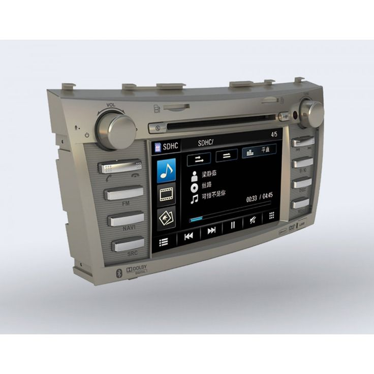 Pioneer Avic F7111 Perfect Fit Navigation System Toyota