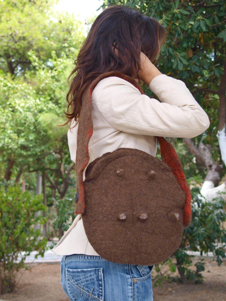 The felt bag of Pan Greek god.