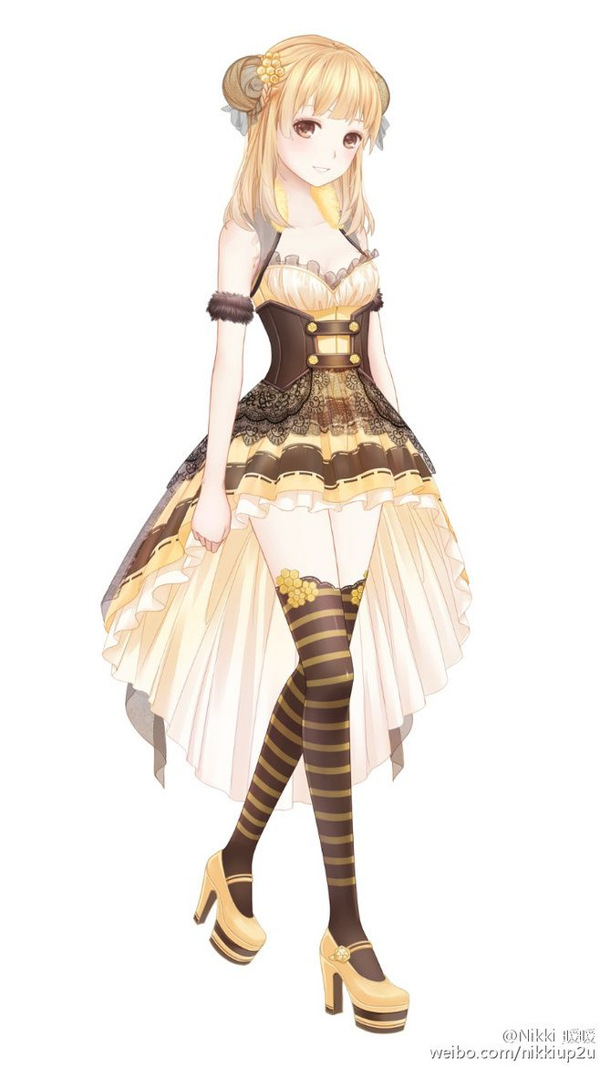 1100 best Fashion Design/Miracle Nikki images on Pinterest | Anime girls Anime outfits and ...