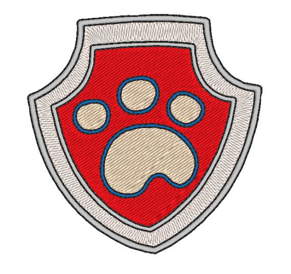 Coloriage Ecusson Pat Patrouille.Image Logo Pat Patrouille