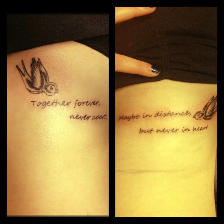 45 best Mother/Daughter Tattoos images on Pinterest