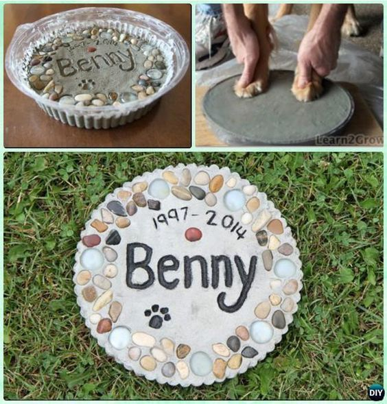 Crafts For Dog Lovers: DIY Puppy Paw Print Craft Ideas Projects [Instructions