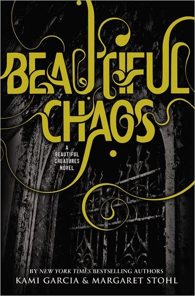 Currently reading: ☆ Beautiful Chaos -Book 3- Authors Kami Garcia and Margaret Stohl ☆