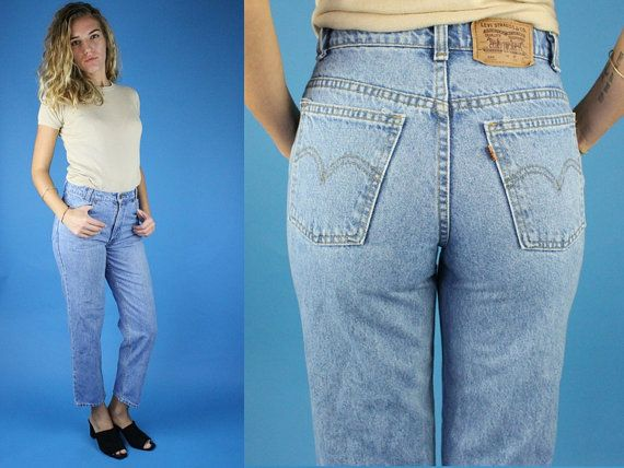 Size 26 Levis 550 High Waisted Vintage Jeans Medium Wash Denim Mom Jean Levis Denim 25 26 small mom jeans levis 550 Mom jean Levi's 550 by DiveVintage from Passport Vintage. Find it now at http://ift.tt/2drOFqk!