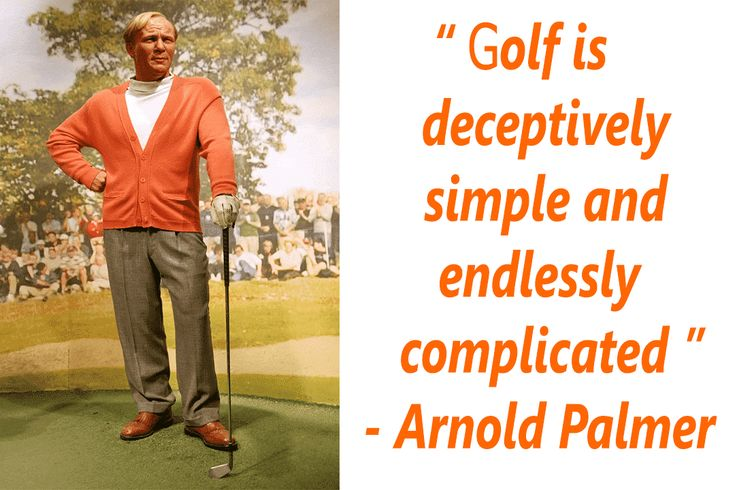 Arnold Palmer golf legend quotes