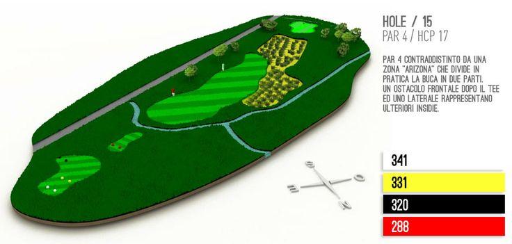 Hole 15 Golf Lignano