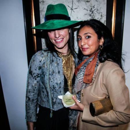 Fb Fringe Necklace Gold NYC 2014