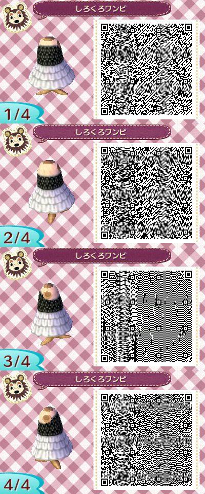Black dress qr code 504