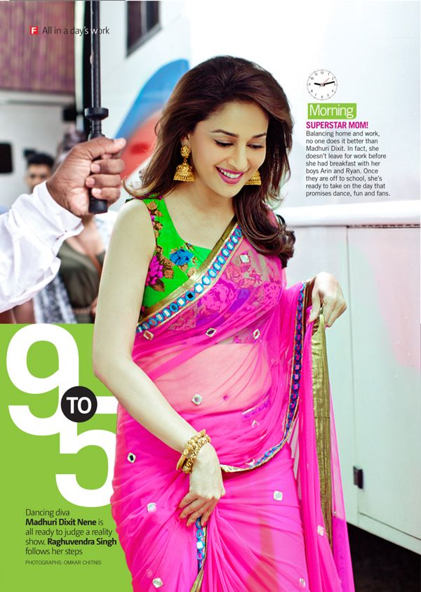 Madhuri is one of the most gorgeous women in the world.