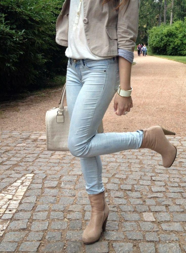 Andrea♡Wendy Jelenská - Tally Weijl Jeans, Carpisa Bag, Orsay Top, Avon Bracelet - Elegant | LOOKBOOK