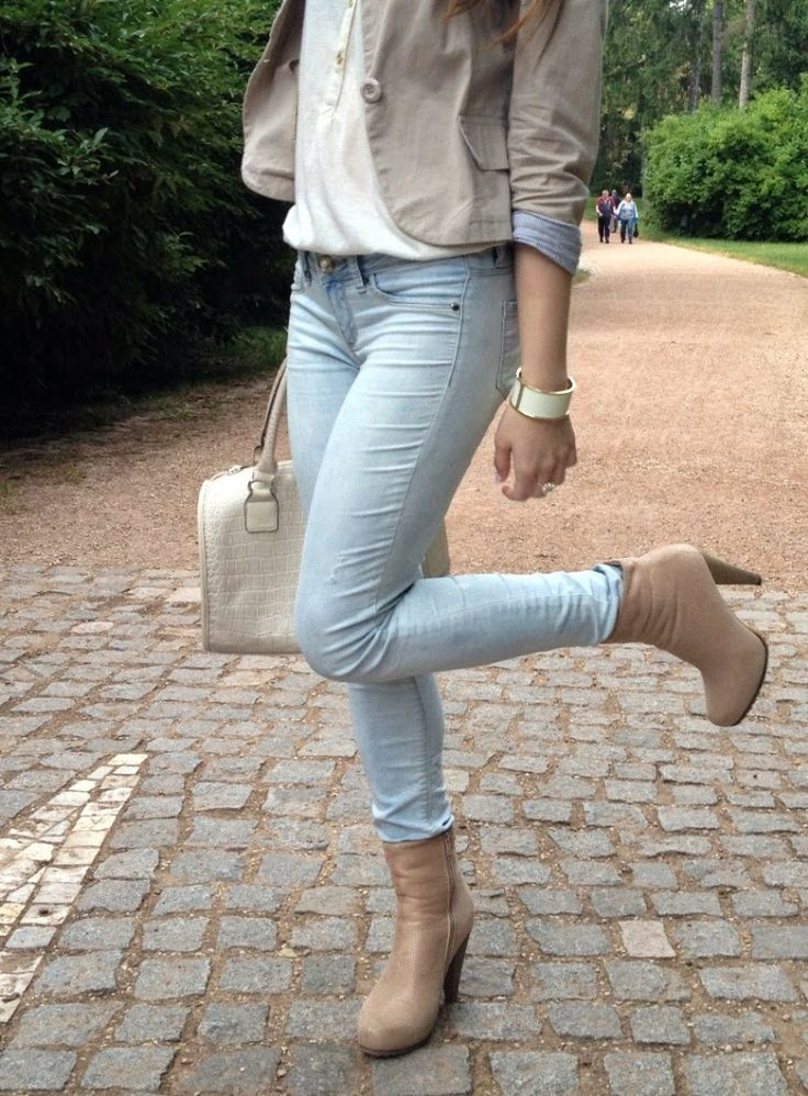 Andrea♡Wendy Jelenská - Tally Weijl Jeans, Carpisa Bag, Orsay Top, Avon Bracelet - Elegant | LOOKBOOK