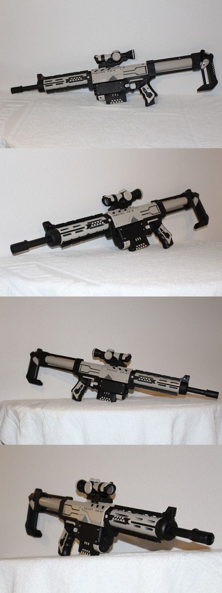 Dart Guns and Soft Darts 158749: Custom Painted Modified Nerf Guns For Cosplay, Larp And Hvz: Nerf Recon -> BUY IT NOW ONLY: $195 on eBay!