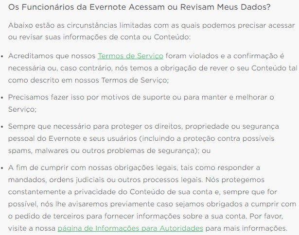 Nova política do Evernote permite vigilância sobre o que você escreve - http://anoticiadodia.com/nova-politica-do-evernote-permite-vigilancia-sobre-o-que-voce-escreve/