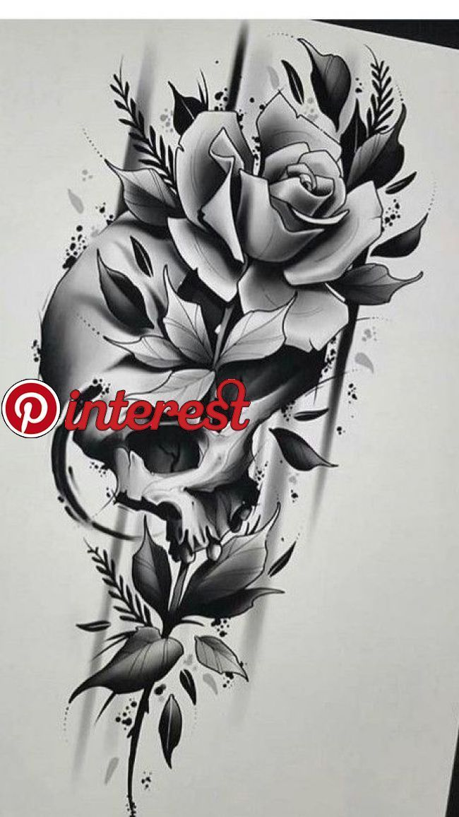 Skull Rose Beto Rose Skull Nursery Pinterest Tattoo Designs Skull Tattoo Flowers And S In 2020 Skull Rose Tattoos Rose Tattoo Design Skull Tattoo Flowers