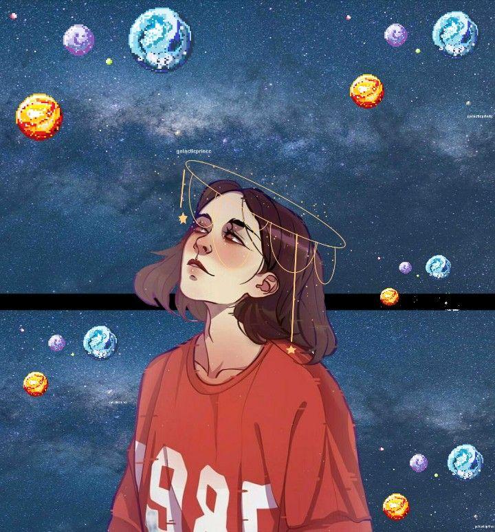 Universo Garota Girl Tumblr Desenho Desenhotumblr