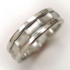 This article describes the steps on how to make a three-part silver ring made of sterling. Read on to know how to make one.