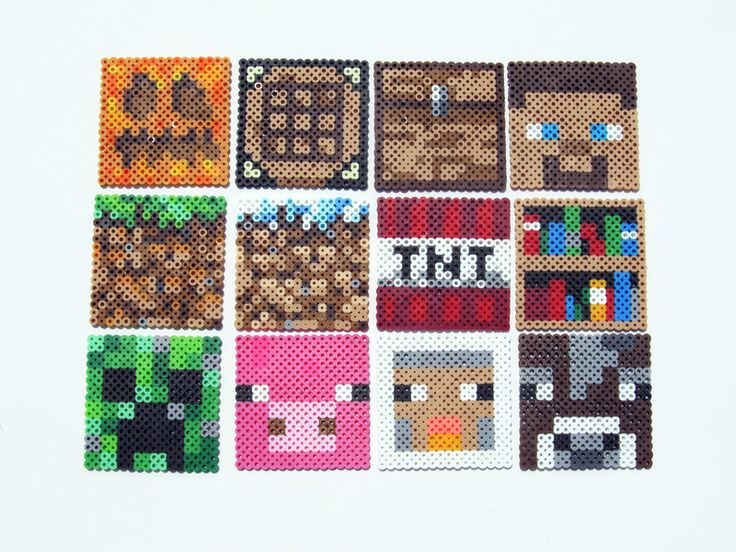 17 best images about minecraft crafts rubber band minecraft characters and blocks by showmeyourbits com on