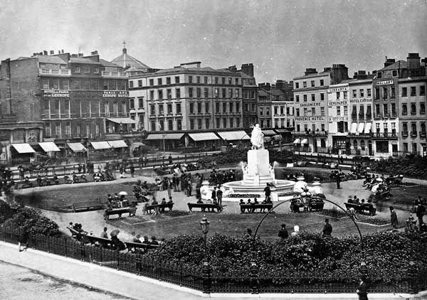 Leicester Square, London ( c. 1880)