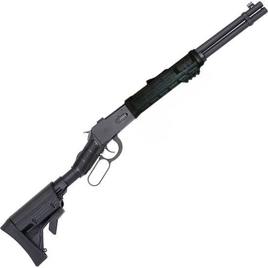 Mossberg 464 SPX Tactical Lever Action Rifle .30-30 Winchester 16.25 Barrel 6 Rounds Tri-Rail Forend Collapsible Synthetic Stock Black 41022