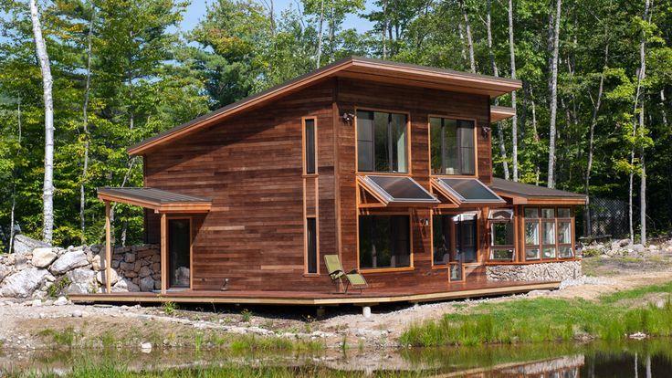 192 mejores im genes sobre casas prefabricadas madera en - Mejores casas prefabricadas ...