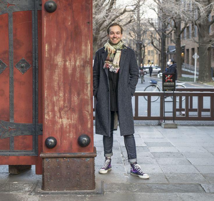 Miikka Lehtonen, Finnish assistant professor at the University of Tokyo