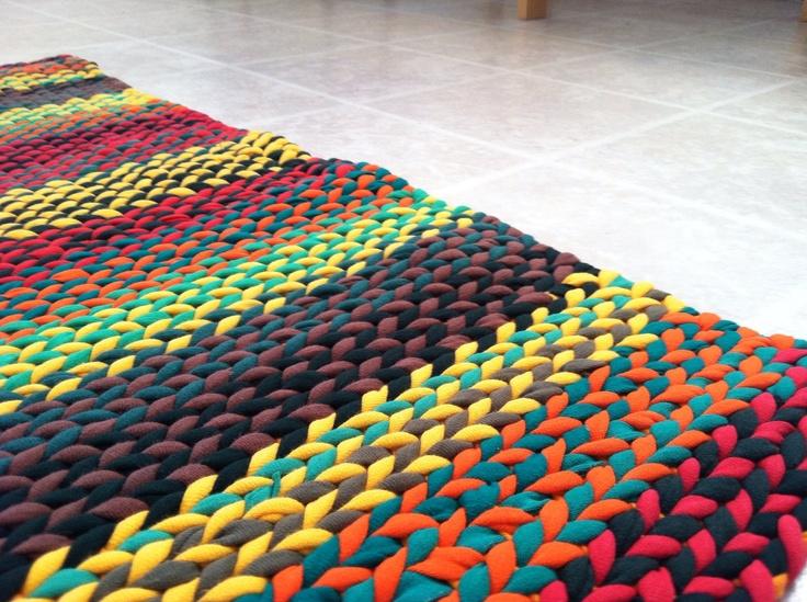 143 Best T Shirt Yarn, Rag Rugs Images On Pinterest | Crochet Rugs, Rag Rugs  And Diy Rugs