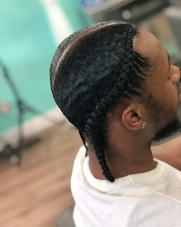 35++ French braids men black trends