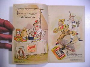 1908-Ad-Booklet-THE-FROLIE-GRASSHOPPER-CIRCUS-Am-Cereal-Quaker-Oats-Scarce-Illus