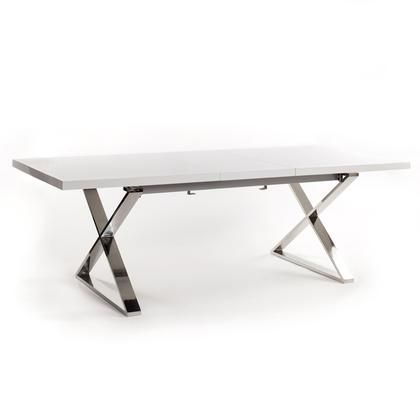 CABELLO EXTENSION DINING TABLE WHITE