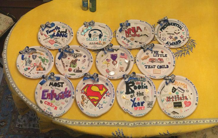 Volleyball Paper Plate Awards                                                                                                                                                                                 More