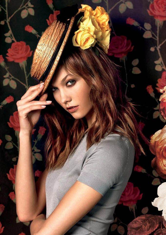 ru_glamour: Карли Клосс в рекламе Moda Operandi La Vie en Rose