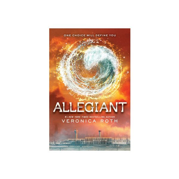 Veronica Roth Talks Controversial Allegiant Ending ❤ liked on Polyvore featuring books and divergent