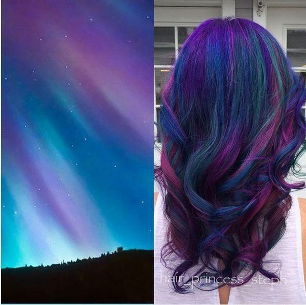 Galaxy Hair Wir Farben Unsere Haare Jetzt In Galaktischen Farben