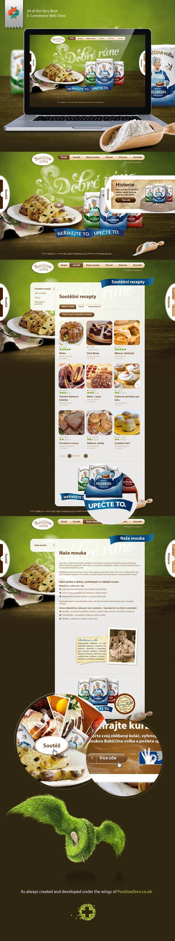 Babiccina Volba by PositiveZero.co.uk , via Behance