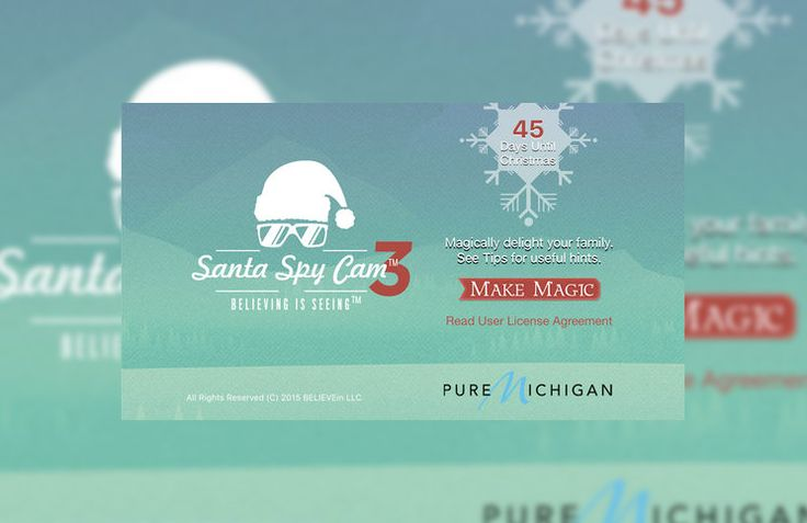 Santa Spy Cam: The Best #Christmas #iPhone App You'll Download This Christmas