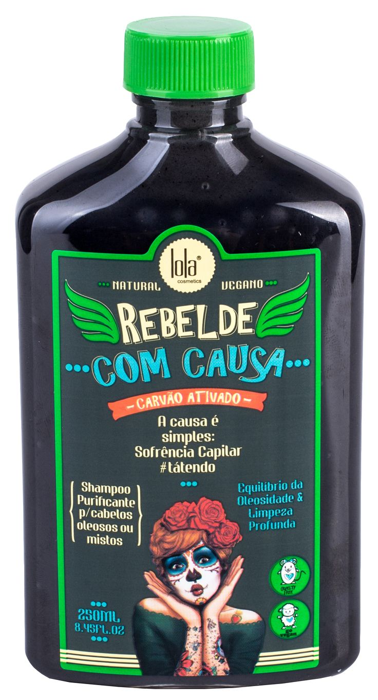 Rebelde Com Causa – Shampoo Purificante – Lola Cosmetics