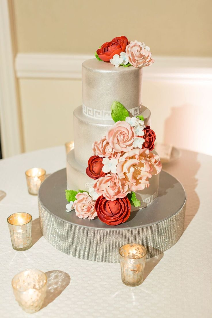 wedding cakes in lagunbeach ca%0A Oh how we adore this red  pink and white toned California wedding  Laguna  Niguel